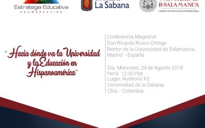 Nuestro próximo evento de formación Edumarketing será con el Rector de la Universidad de Salamanca